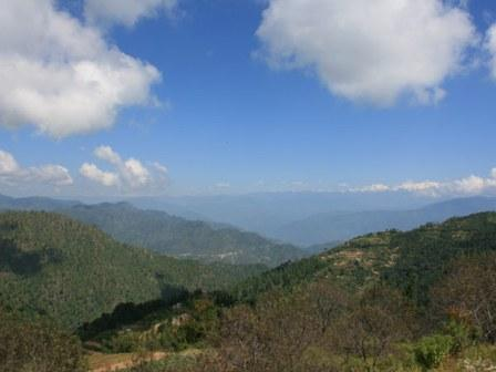 natural beauty in kanatal