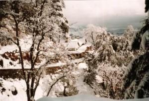 chakrata snowfall view uttarakhand